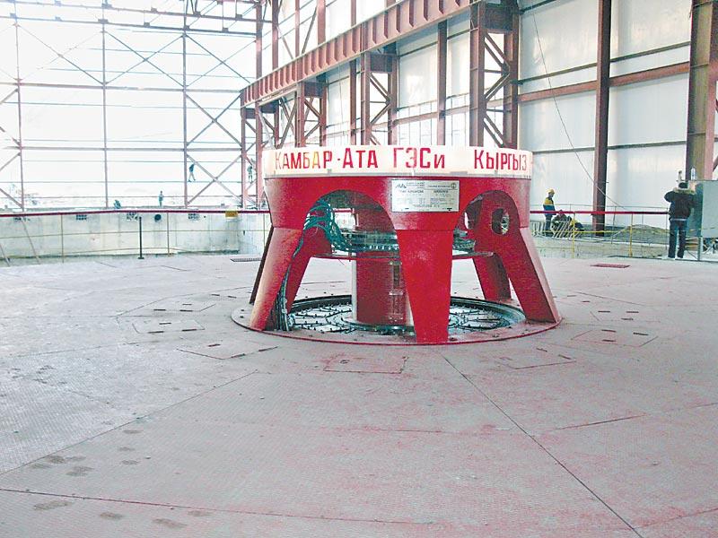 Первый большой пуск в энергетике Киргизии за 19 лет независимости —Камбар-Атинская ГЭС-2. Символично, что гидрогенераторы для станции были изготовлены на «ЭЛСИБе», который планирует в ближайшем будущем значительно увеличить энергомощности страны.