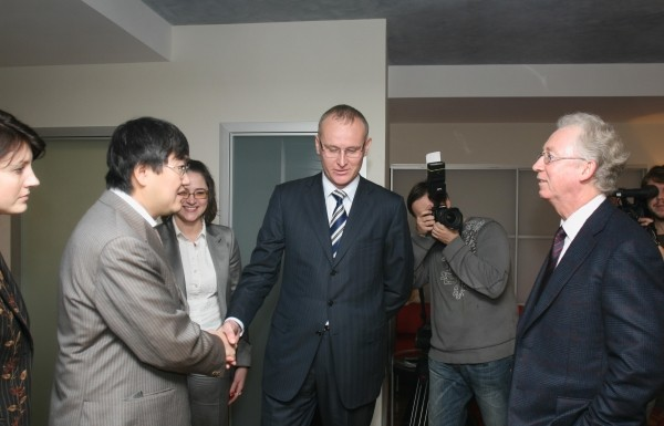 Пресс-конференция посвященная слиянию УРСА Банка и МДМ Банка