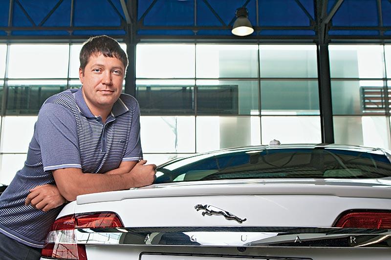 Денис Иващенко Тест Jaguar XF