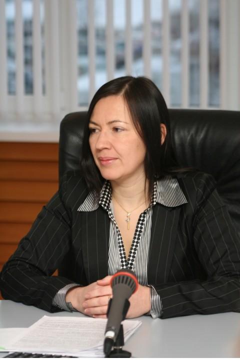 26 декабря управляющим кемеровским отделением Сибирского банка Сбербанка России назначена Анжелика Рогожкина, ранее занимавшая должность заместителя управляющего, а до этого работавшая начальником отдела кредитования юридических лиц. Фото – ВАДИМ ГОЛУБИН.