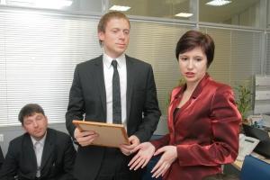Руководитель Новосибирским филиалом КМБ БАНКа Элина Маламатиди