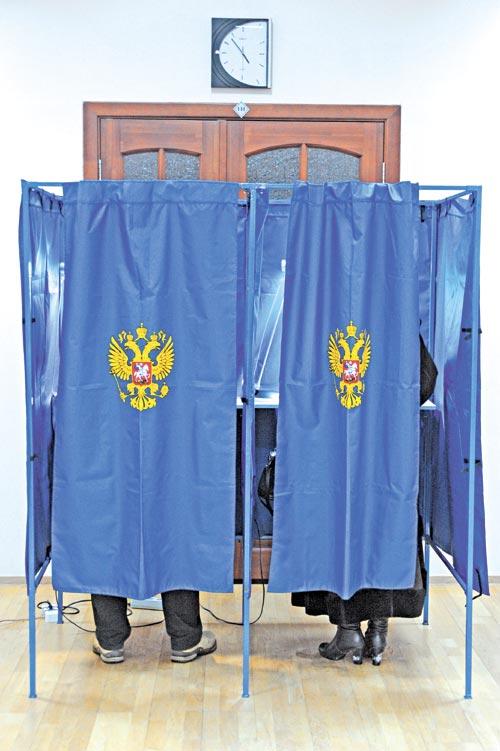 Результаты выборов оставались для «единороссов» тайной до последнего момента