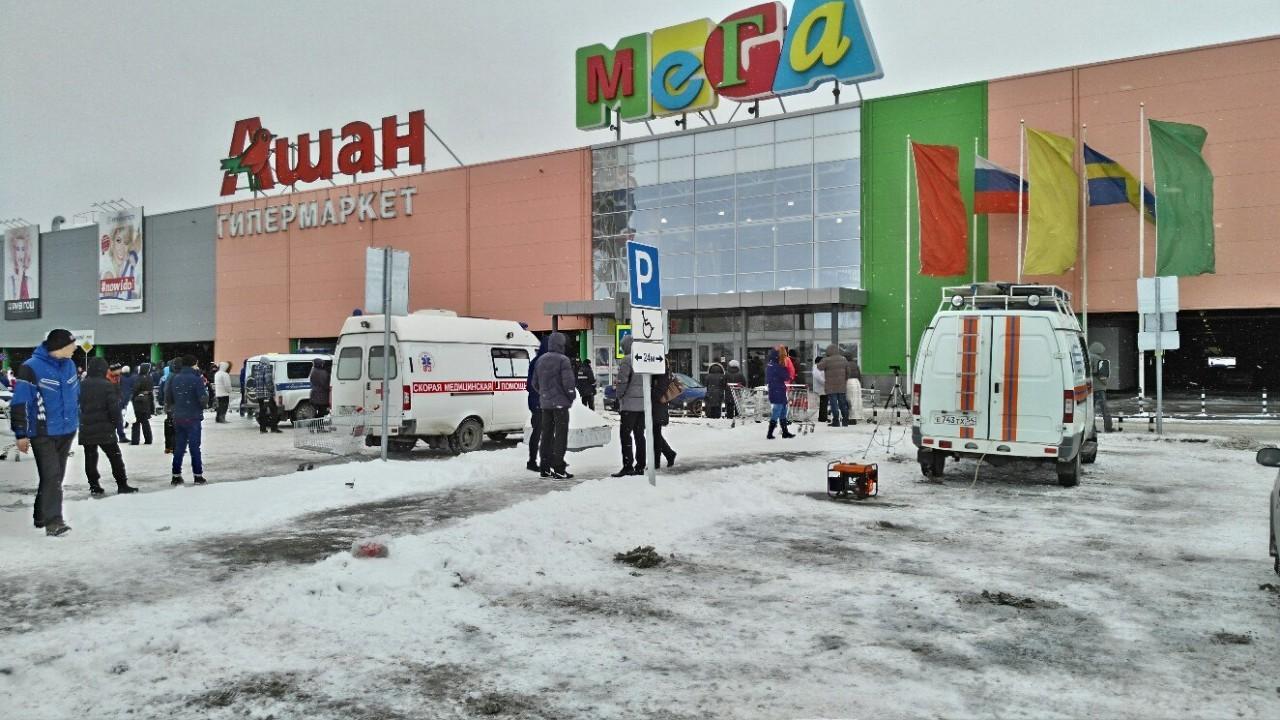 В торговом центре Новосибирска прошла экстренная эвакуация