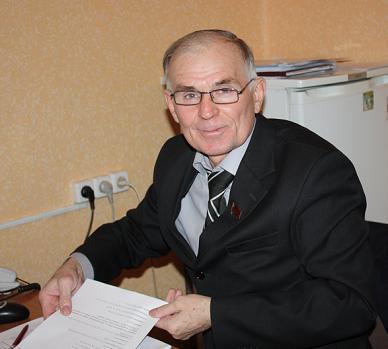 Кандидат КПРФ Сергей Бренюк