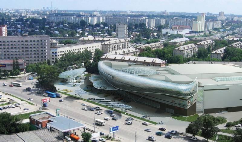Проект будущего торгового центра