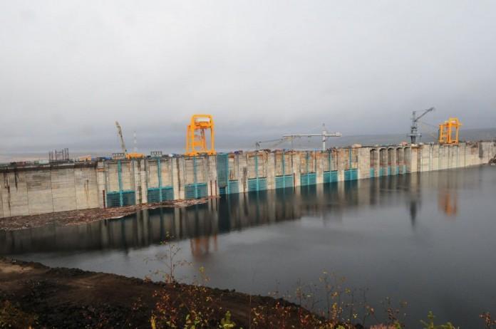Миниатюра для: Строительство Богучанской ГЭС вошло в завершающую стадию