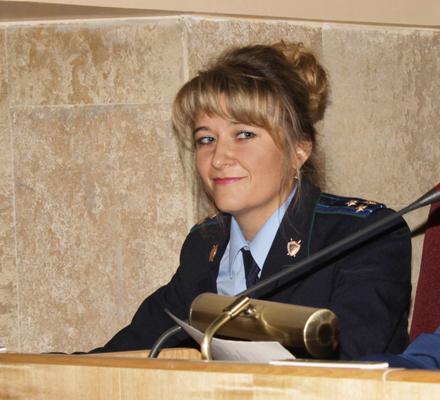 Cтарший помощник прокурора области по взаимодействию с представительными (законодательными) и исполнительными органами НСО