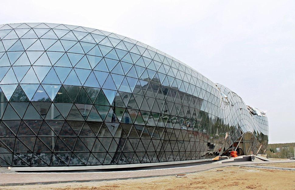 """Центр коллективного пользования """"Биотехнопарка"""" обещают закончить к июлю."""