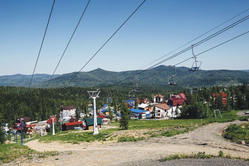 Поток туристов из европейской части России и Урала в Шерегеш вырос на 65% по отношению к аналогичному периоду прошлого года