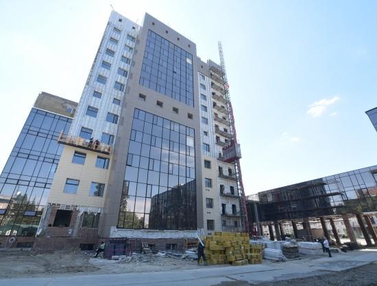 Новый главный корпус НГУ будет 12-этажным.