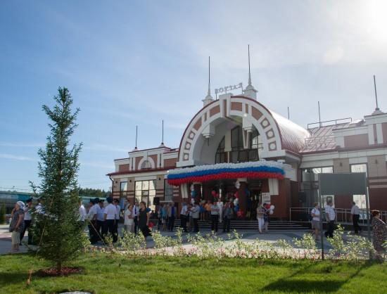 Здание нового вокзала станции «Сеятель».