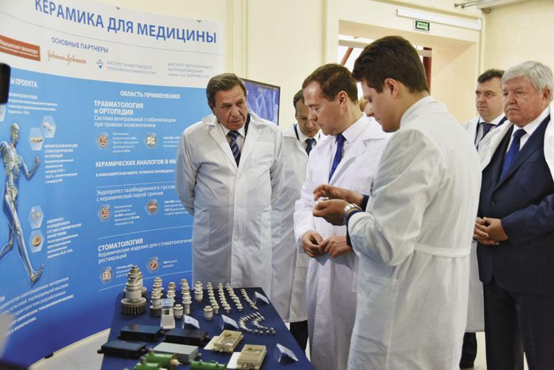 Владимир Городецкий и Дмитрий Медведев