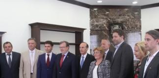 Немецкие парламентарии поинтересовались у сибирских коллег, как избраться депутатом в Новосибирске.