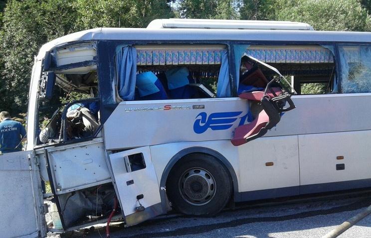 Из 50 пассажиров автобуса 11 погибли, 28 пострадали, 11 отделались испугом.