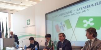 Владимир Городецкий рассказал ломбардским бизнесменам о возможных направлениях сотрудничества двух регионов.