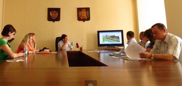 На конкурсе, основной этап которого прошёл в администрации Калининского арйона Новосибирска, победил проект молодой выпускницы архитектурной академии.