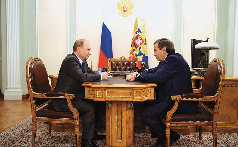 Владимир Путин и Владимир Городецкий