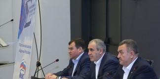 Александр Титков, Сергей Неверов, Валерий Ильенко (слева направо)