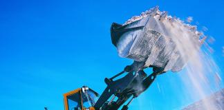 В Новосибирской области резко и неожиданно увеличились запасы строительного песка.