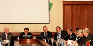 Андрей Шимкив (в центре), Иван Мороз (справа от Шимкива)