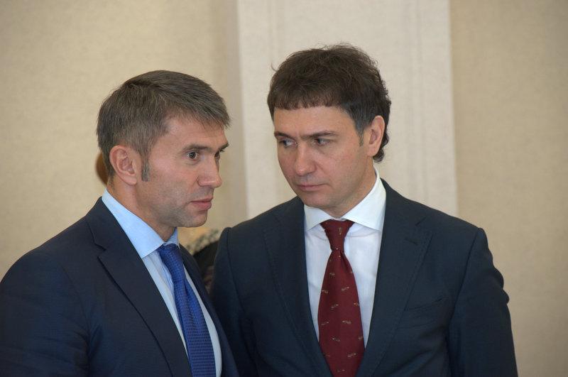 Евгений Яковенко (слева) и Дмитрий Асанцев (справа)