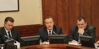 Андрей Шимкив (слева), Иван Мороз (в центре)