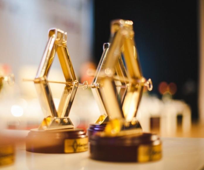 Призовая статуэтка Национальной премии «Бизнес-Успех».