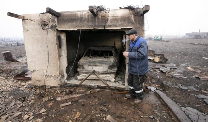 Благодаря механизму господдержки, предприниматели, потерявшие в весеннем хакасском пожаре какую-либо собственность, смогут получить субсидию и поправить своё положение.