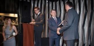 Партнёр новосибирской мэрии в проведении конкурса на лучшее малое предприятие города, Банк «Левобережный», принял участие в награждении лучших компаний.