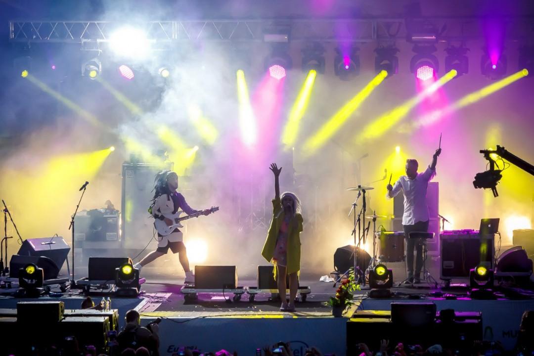 Группа IOWA сопровождала Lenovo во всех городах проведения фестиваля в России. Фото организаторов.