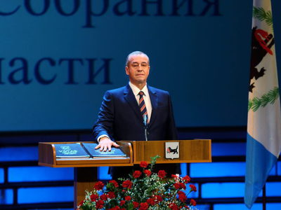 Инаугурация Сергея Левченко.