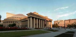 Новосибирский театр оперы и балета посетила делегация европейских экспертов, которая поможет администрации проанализировать и усовершенствовать работу всех служб и структур театра.