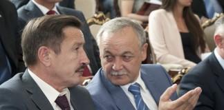 Валерий Шварцкопп (справа)