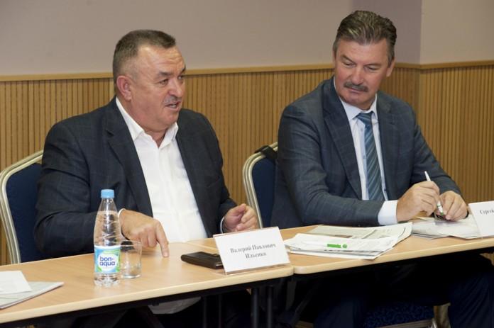 Валерий Ильенко, Сергей Титков (слева направо)