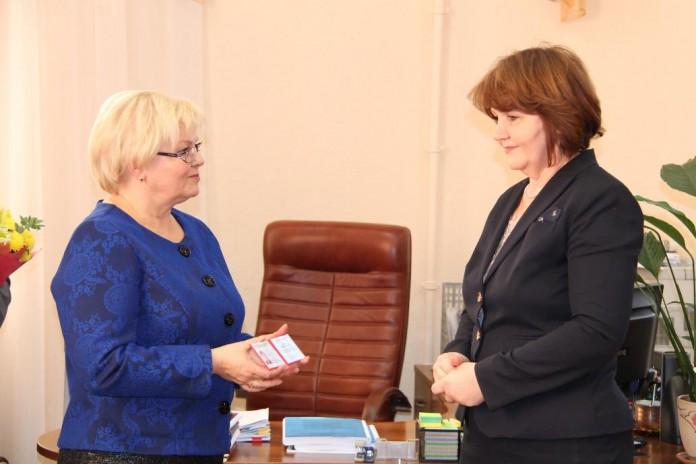Ольга Благо и Тамара Краткая (слева направо)