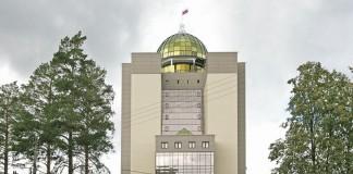 Новый главный корпус НГУ.