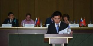 Банк «Левобережный» и его китайский партнёр, знаменитая Sinosure проведут для красноярских предпринимателей-участников ВЭД конференцию о практике ведения бищзнеса с Китаем. На фото - конференция для кузбасских предпринимателей.