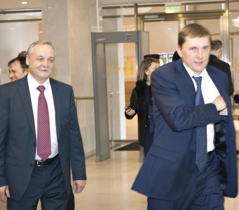 Валерий Шварцкопп, Виктор Игнатов (слева направо)