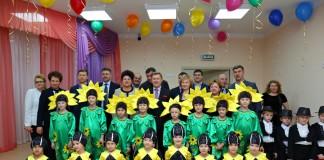 Открытие детского сада в Новосибирске