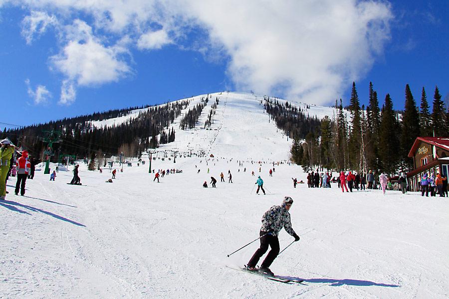 ВШерегеше открылся новый горнолыжный сезон