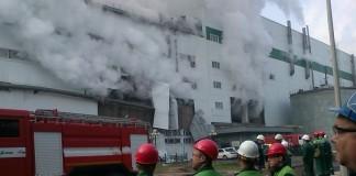 На Братском лесопромышленном комплексе продолжают оенивать масштабы происшествия.