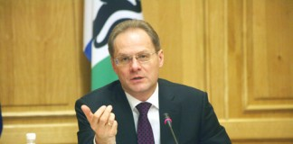 Василий Юрченко завершил ознакомление с материалами одного из своих уголовных дел.