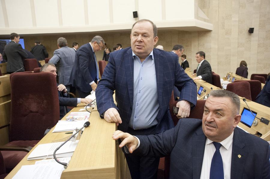 Валерий Ильенко, Владимир Лаптев (справа налево)