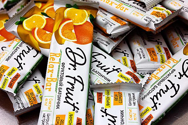 фруктовые батончики Dr.Fruit®