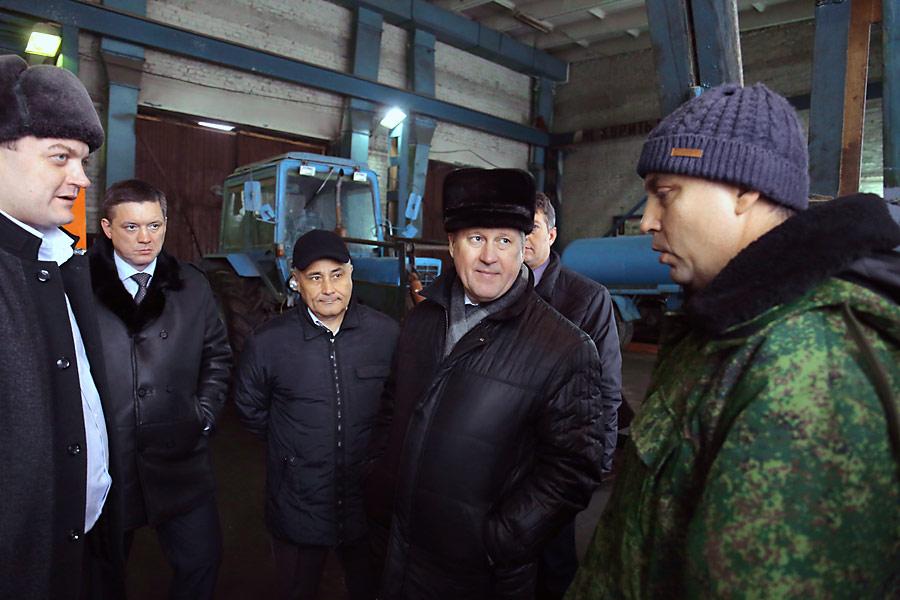 Мэр Новосибирска Анатолий Локоть провел выездной рабочий день в Советском районе