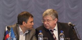 Алексей Беспаликов и Вячеслав Володин (справа налево)