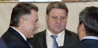 Александр Терепа (в центре) и Андрей Шимкив (слева)
