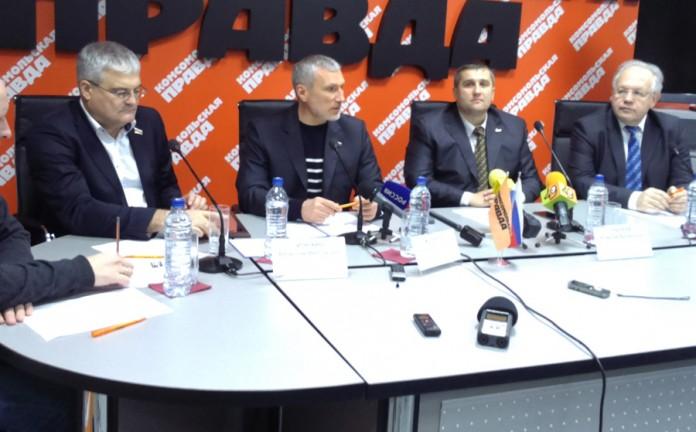 Вячеслав Илюхин, Алексей Журавлев, Алексей Рылеев, Александр Люлько (слева направо)