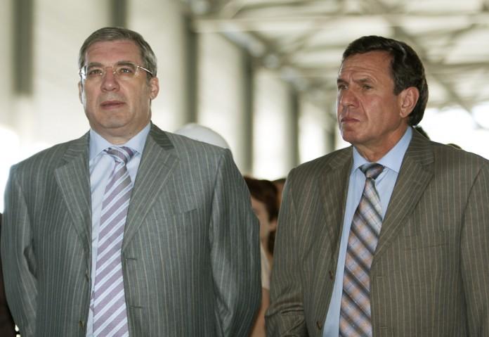 Виктор Толоконский, Владимир Городецкий (слева направо)