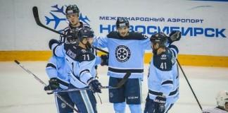 Новосибирцы победили ханты-мансийцев со счётом 5:2.